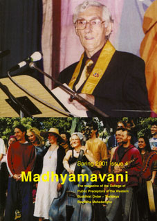 Madhyamavani Issue 4 was designed by Simon Perry